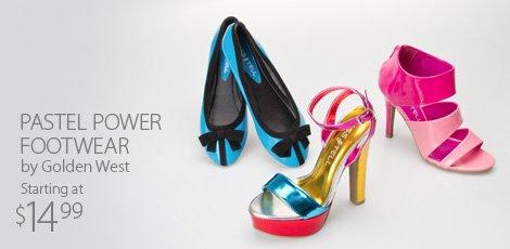 Pastel Power Footwear
