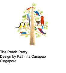 The Perch Party - Design by Kathrina Casapao, Singapore