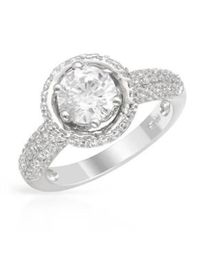 Ladies Ring Designed In 925 Sterling Silver $79