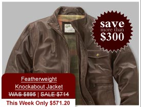 Featherweight Knockabout Jacket WAS $895 | SALE $714 This Week Only $571.20 - Save more than $300.
