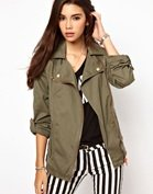 Only Military Biker Jacket