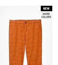 MEN COTTON LINEN RELAXED PANTS
