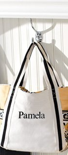 Small Colorblock Tote in Go Wild