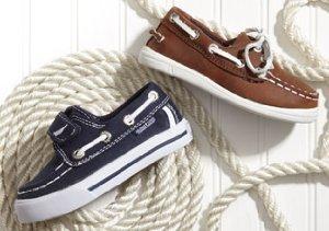 Spring Forward: Boy's & Girl's Footwear