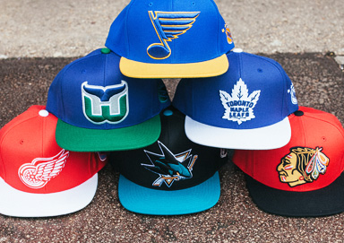 Shop NHL Hats by Mitchell & Ness