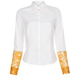 Paul Smith Shirts - White Contrast Sleeve Shirt