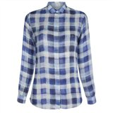 Paul Smith Shirts - Sun Bleach Check Print Shirt