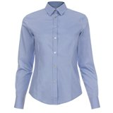 Paul Smith Shirts - Blue Contrast Cuff Shirt