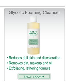 Recommended product to go along with Silver Powder: Glycolic Foaming Cleanser