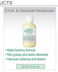 Recommended product to go along with Silver Powder: A.H.A Ceremide Moisturizer