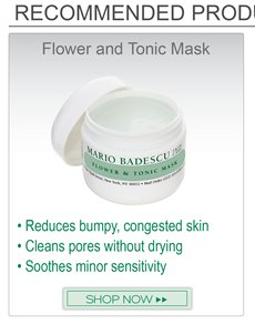 Recommended product to go along with Silver Powder: Flower and Tonic Mask