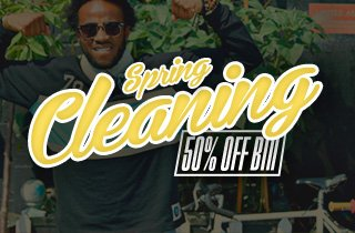 Spring Cleaning: 50% Off Bin