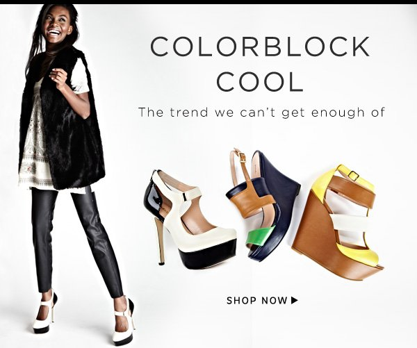 Shop Colorblock Cool Collection