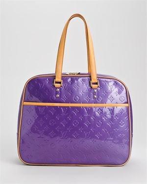 Louis Vuitton Vernis Monogram Travel Bag