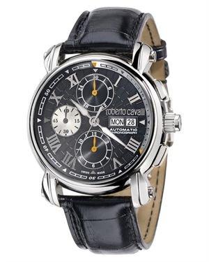 Roberto Cavalli Anniversary Automatic Watch Made in Switzerland
