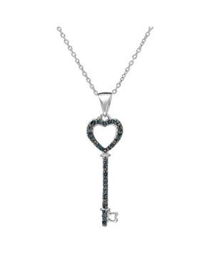 .20 CTW Diamond and Silver Necklace