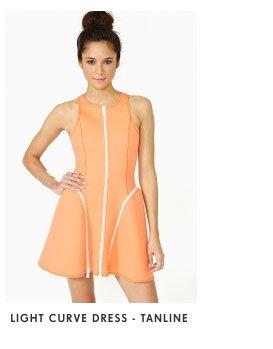 Light Curve Dress Tanline