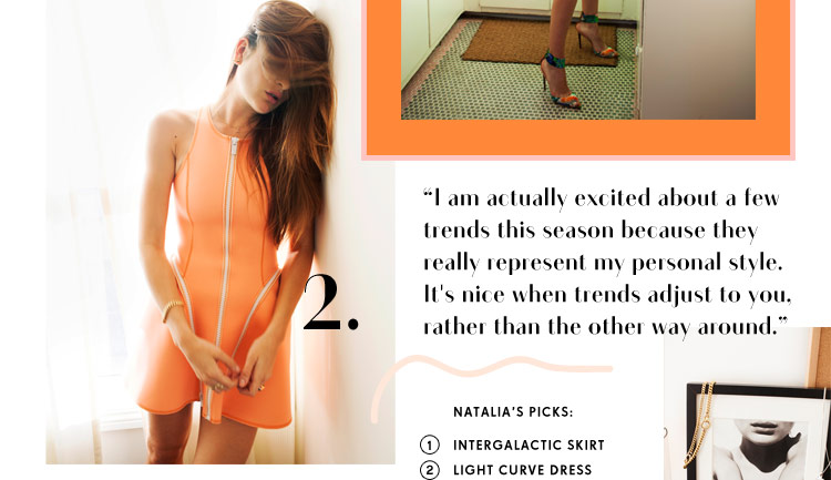 Read Natalia Bonifacci's take on our new collection