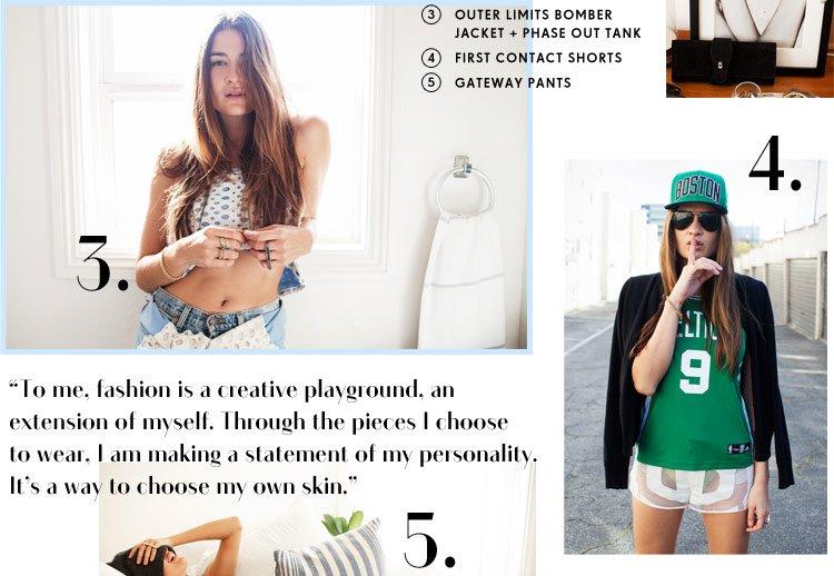 Fashion is a creative playground...