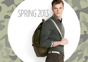 Military Detail: Bags, Belts & More