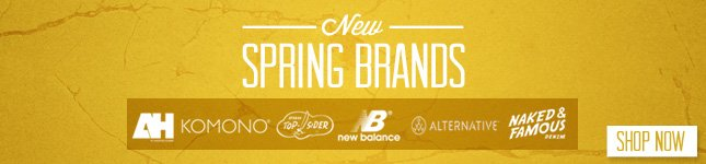 New Spring Brands just in on KL!