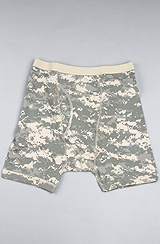 The Army Digital Camo Boxer Briefs in Green Camo