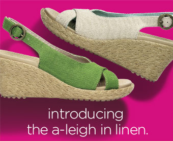 introducing the a-leigh in linen.