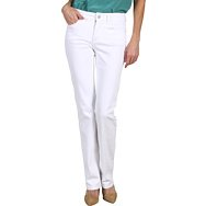 Not Your Daughters Jeans Marilyn Straight in Optic White