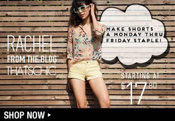 Denim Shorts - Shop Now
