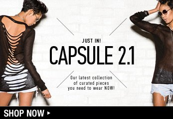 Web Exclusive Capsule Collection - Shop Now