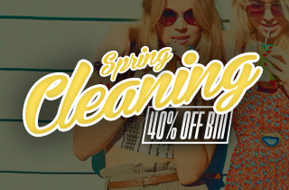 Spring Cleaning: 40% Off Bin