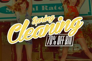 Spring Cleaning: 70% Off Bin
