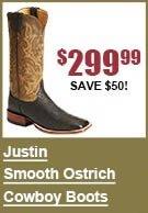 Justin Smooth Ostrich