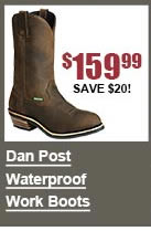 Dan Post Waterproof