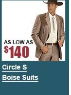 Men's Circle S Boise Suits