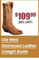 Old West Distressed Leather