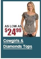 Cowgirls and Diamond Tops
