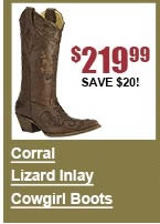 Corral Lizard Inlay