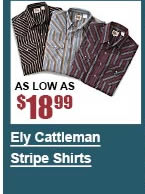 Ely Cattleman Stripe Shirts