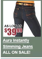 All Aura Instantly Slimming Jeans on Sale