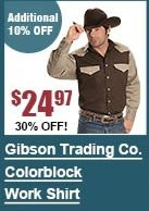 Exclusive Gibson Trading Co. Colorblock Work Shirt