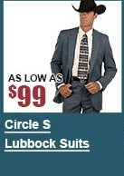 Men's Circle S Lubbock Suits