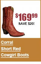 Corral Short Red