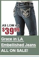 All Grace in LA Jeans on Sale