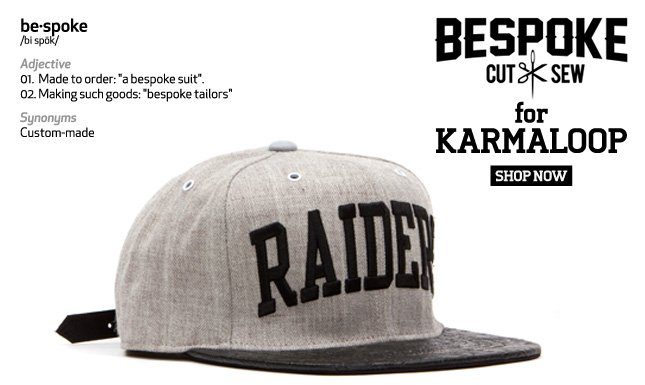 New Customized Strapback Hats from Bespoke and Karmaloop