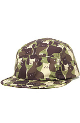 The Kitty Camper Camo Cap in Camo