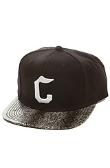 The Snake Eyes C Snapback in Black