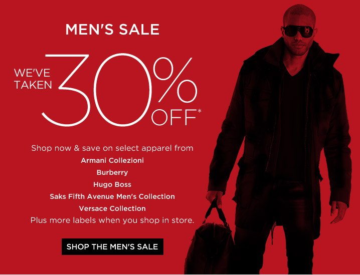 Shop the Men's Sale