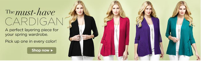 The Must Have Cardigan!