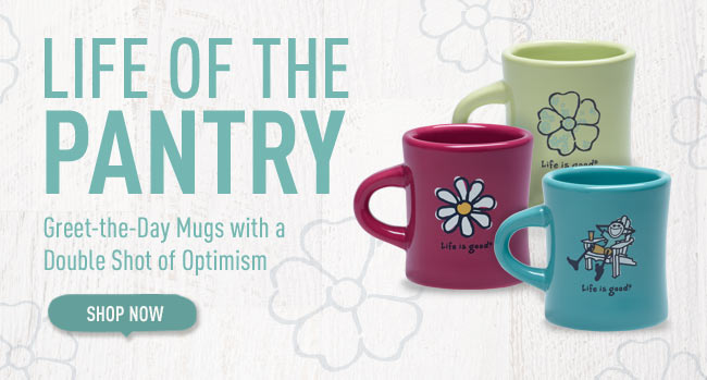 Life of the Pantry - Greet-the-Day Mugs with a Double Shot of Optimism